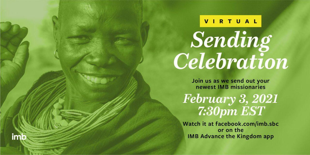 IMB to host virtual Sending Celebration, Feb. 3