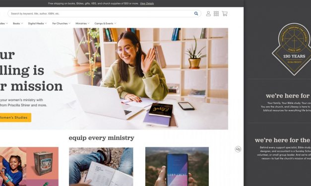 Lifeway launches new branding, website enhancements
