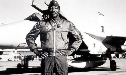 Fighter pilot finds freedom from racism and self