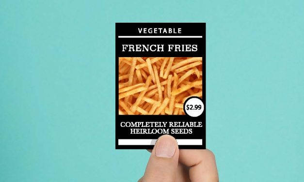 Blog: Grow your own French Fries