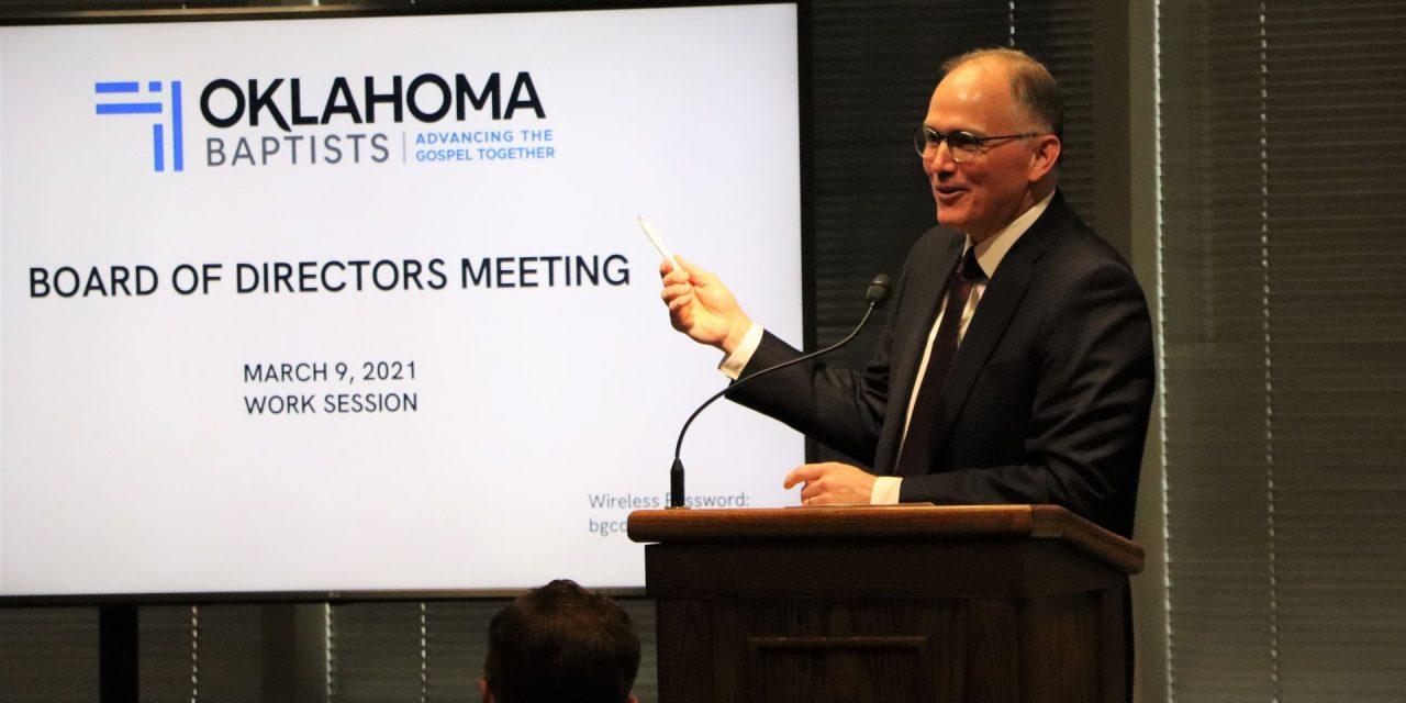 Onward & Upward: Oklahoma Baptists' board celebrates Gospel advance