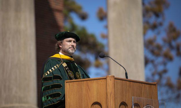 OBU celebrates inauguration of Thomas as University's 16th president