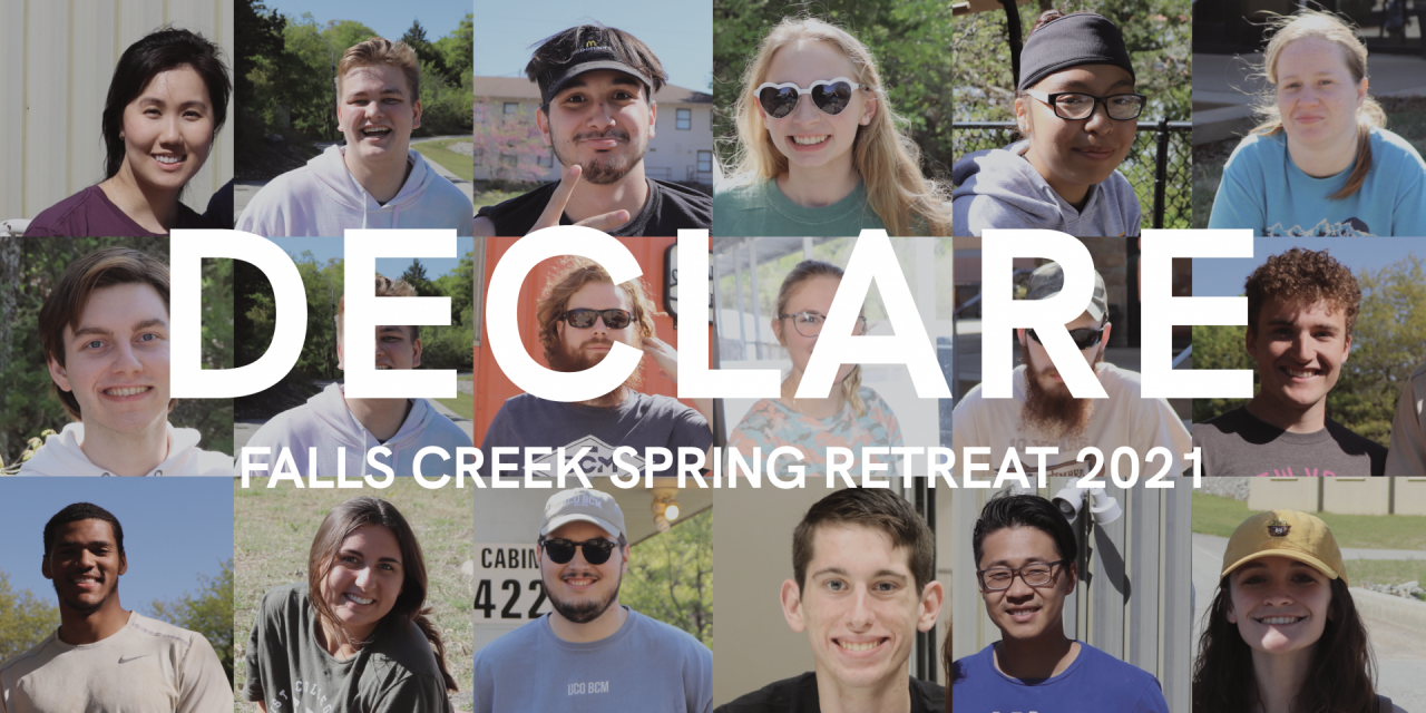 BLOG: Students 'Declare' 2021 BCM Spring Retreat a success