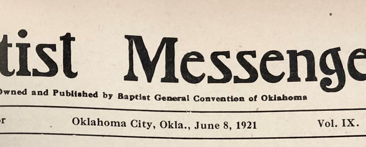 Sword & trowel: Reflecting on the Tulsa Race Massacre Centennial