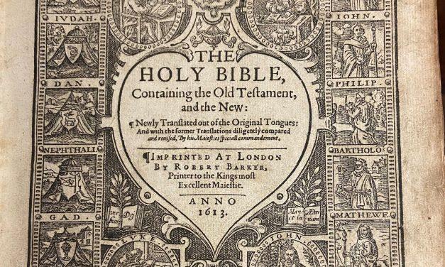 OKC, Shields Blvd. donates rare Bible