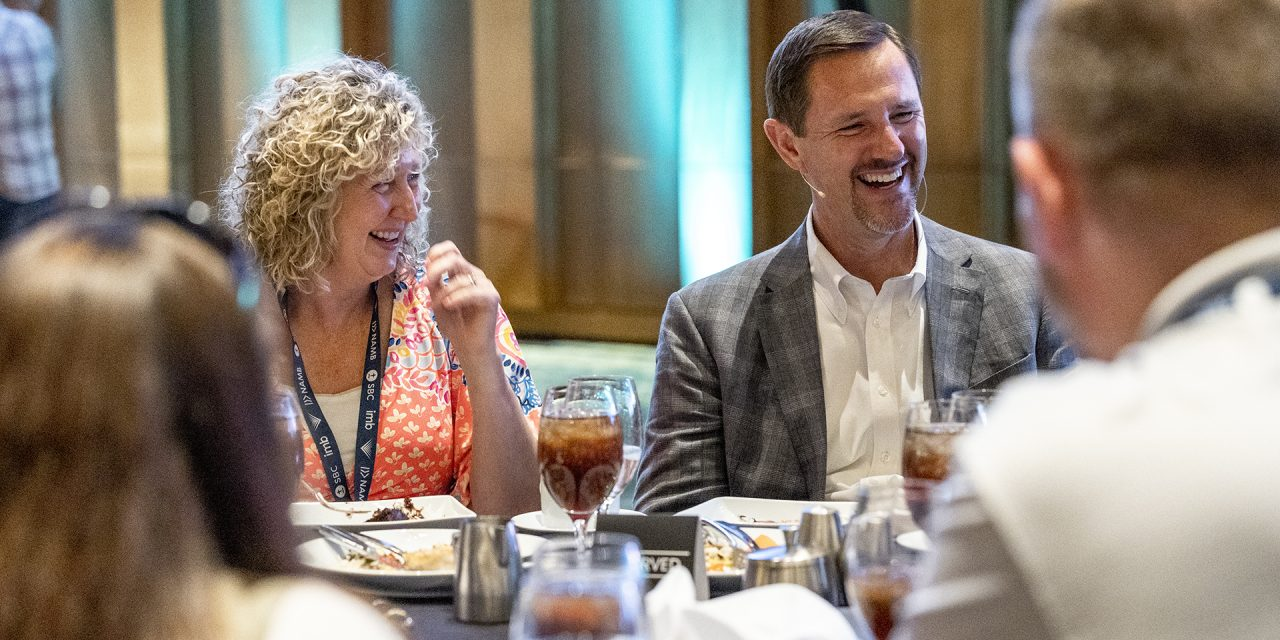 IMB dinner includes celebration and challenge