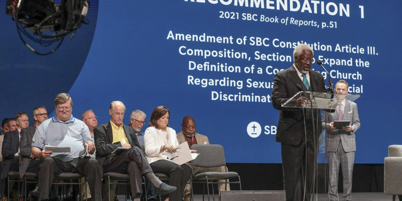 SBC business plan change rejected, SBC constitution amended
