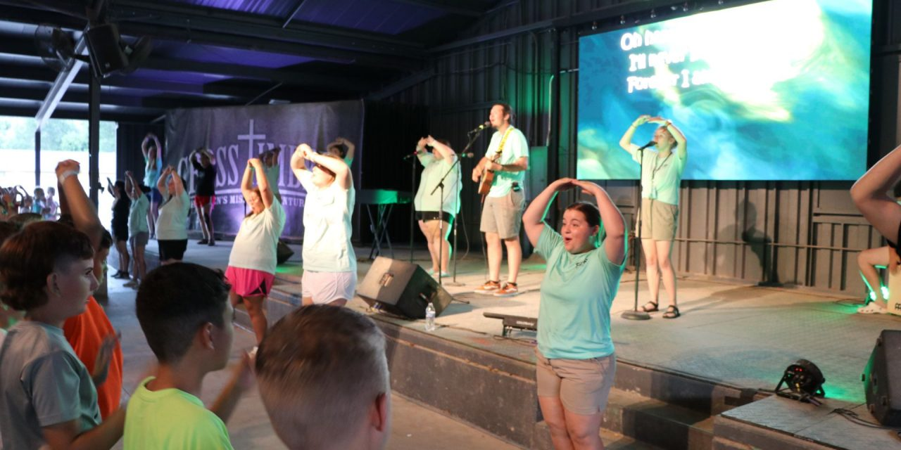 CrossTimbers staff working hard,  as camp sees many decisions