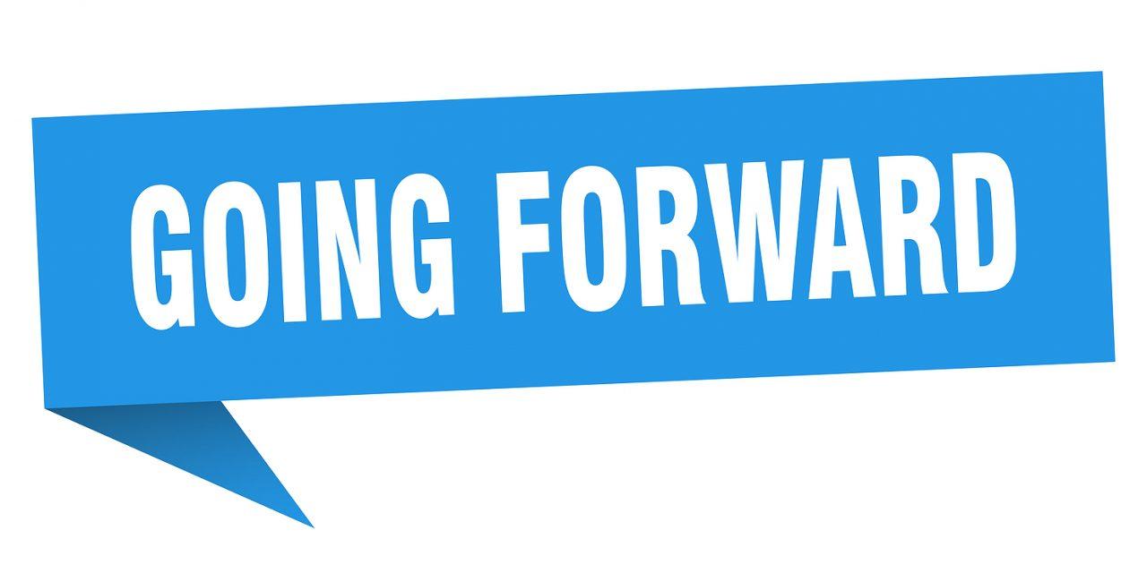 Sword & trowel: Always go forward