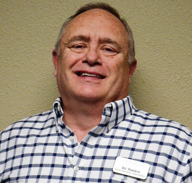 Bill Rowland serves North Canadian Association