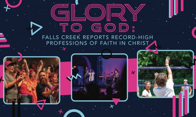Glory to God: Falls Creek reports record-high professions of faith in Christ
