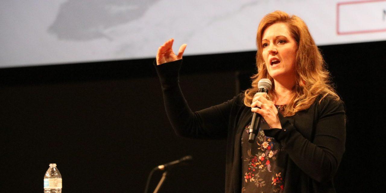 Sharp-ening their beliefs: Apologetics expert Mary Jo Sharp headlines Collegiate Week