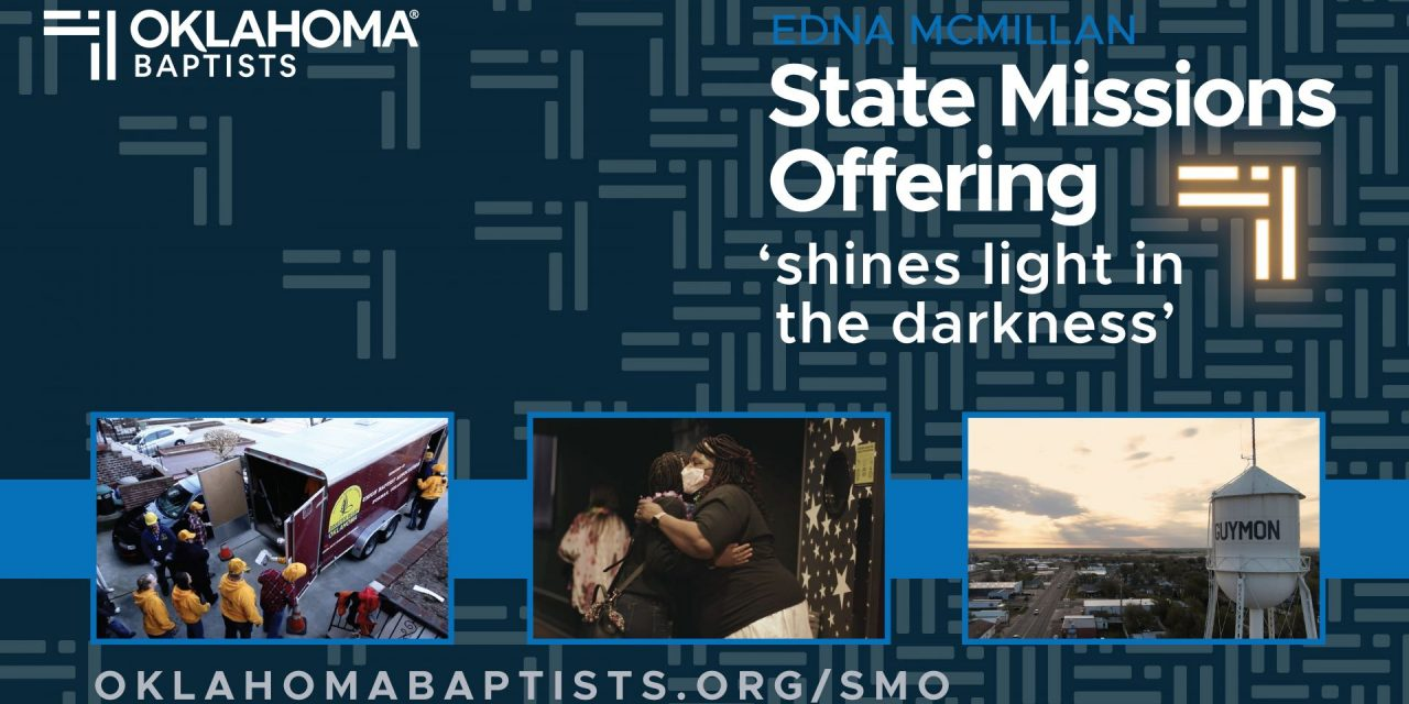 State Missions Offering 'shines light in the darkness'
