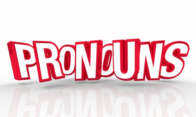 BLOG: People, pronouns and perspectives