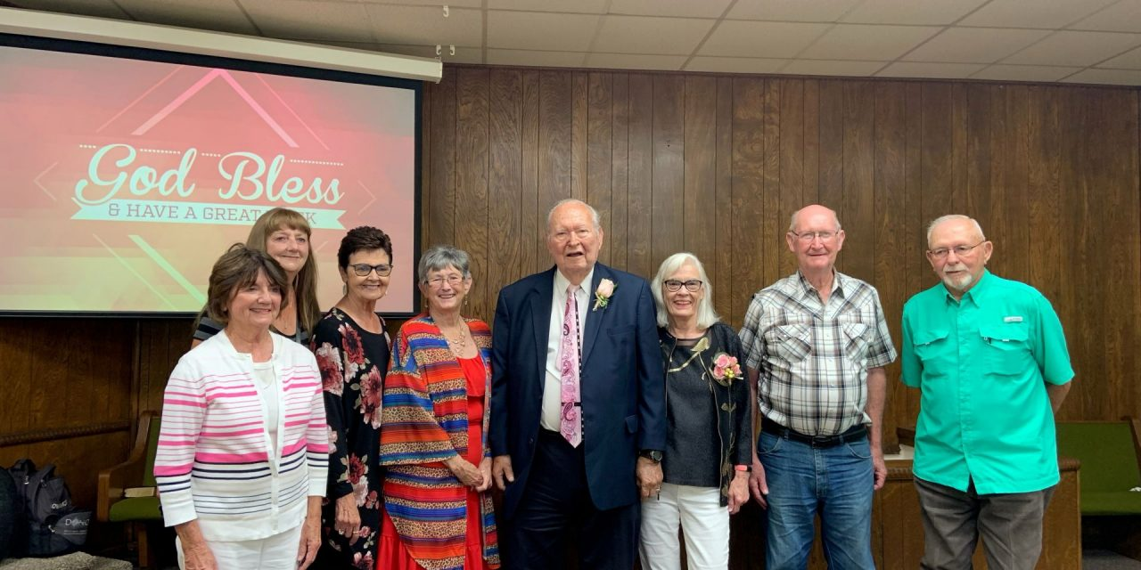 Ritter retires after record pastoral tenure: SW Oklahoma pastor served six decades at same church