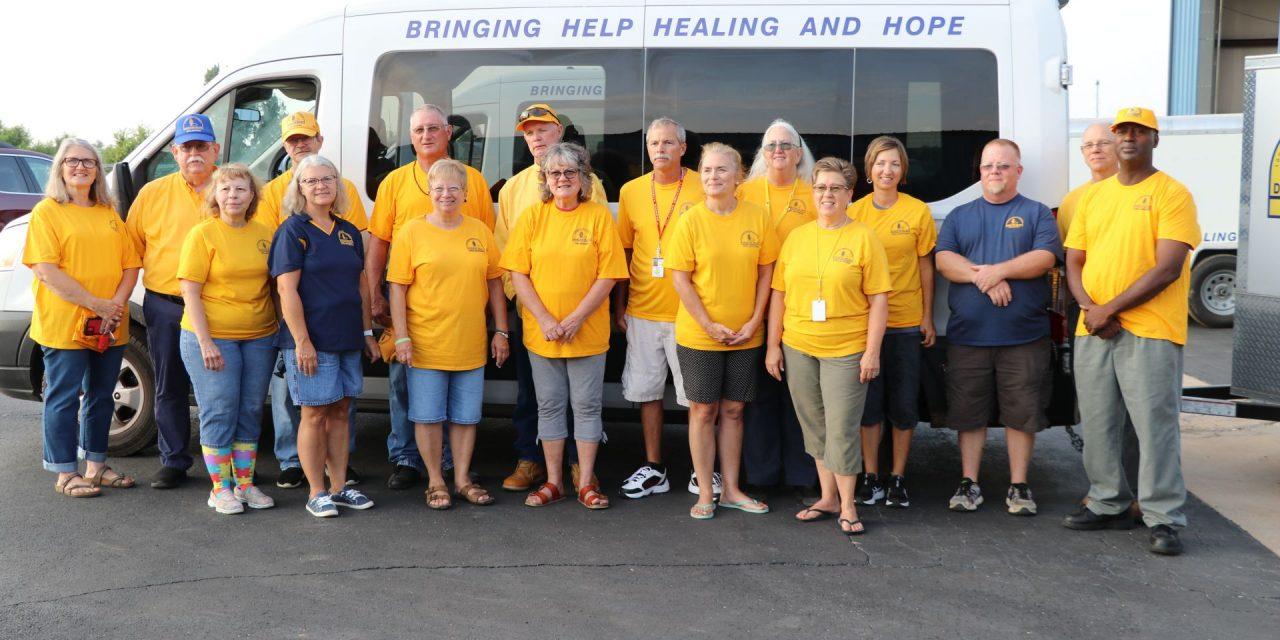 Oklahoma Baptist DR serves Hurricane Ida victims