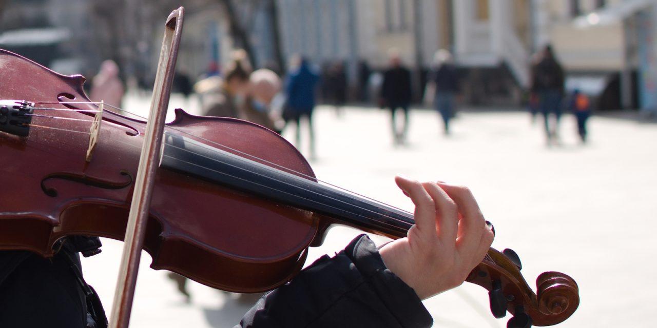 Rite of passage: Street music