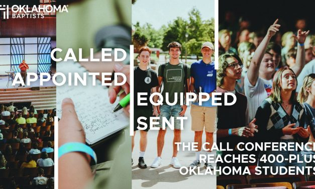 Called, Appointed, Equipped, Sent: The Call Conference reaches 400-plus Oklahoma students