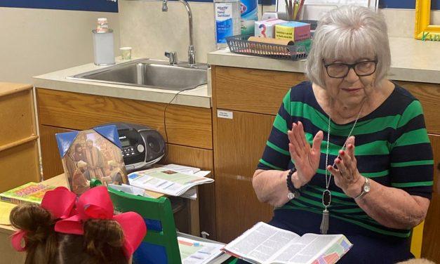 Moran makes impact, teaching 55 years at Muskogee, First