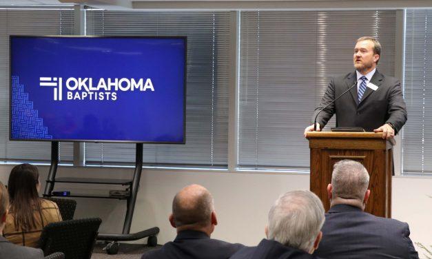 Todd Fisher elected as next Oklahoma Baptists executive director-treasurer