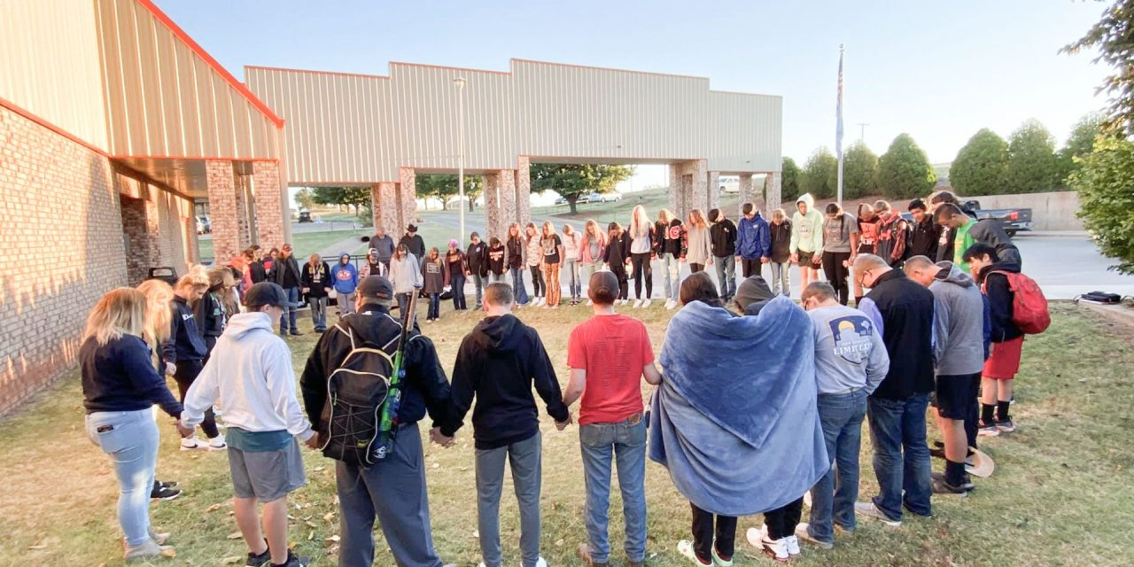 Oklahoma Baptists among many who 'met at the Pole' Sept. 22