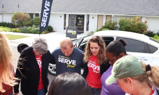 Oklahoma Baptists partner in 'Serve Tour' projects across Tulsa Metro